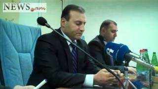 Gor Vardanyan breefing about new movie on Nagorno-Karabakh war gor vardanyan kino 2012