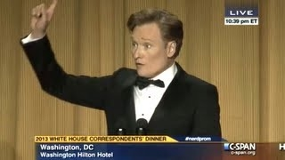 Conan O'Brien at the 2013 White House Correspondents' Dinner - Complete o